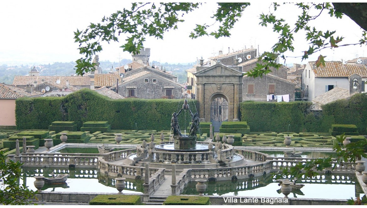Viterbo's best 5 gardens  to visit